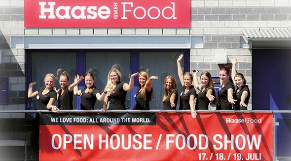 Banner der Haase Food-Show 2014