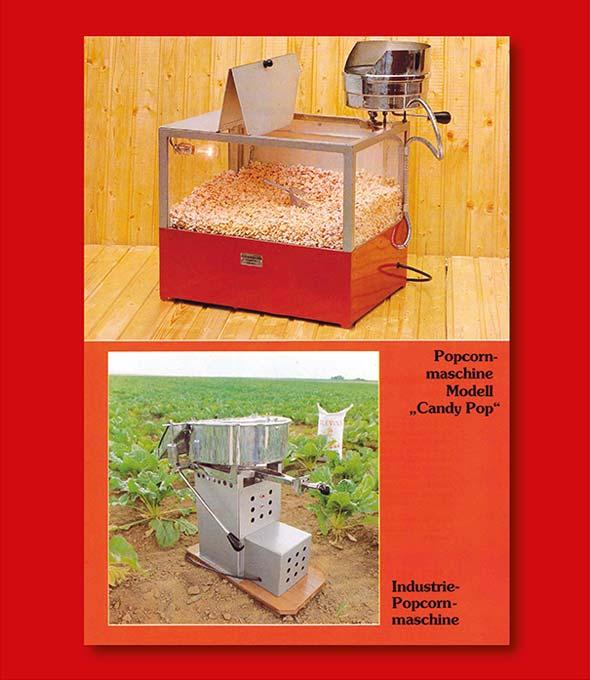 Importierte Popcorn-Maschine Candy Pop