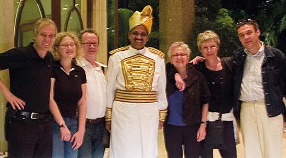 Indienreise mit dem Team Food Service und Salomon FoodWorld.
