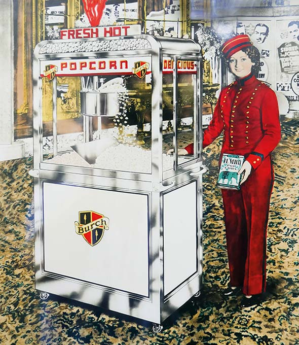 Popcorn-Maschinen von Charles Manley