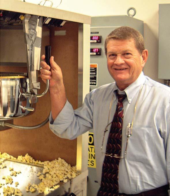 Roger Frazier, Export Director von Gold Medal, Ohio, USA, 1988