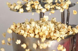 Popcorn-Herstellung / 5 Techniken