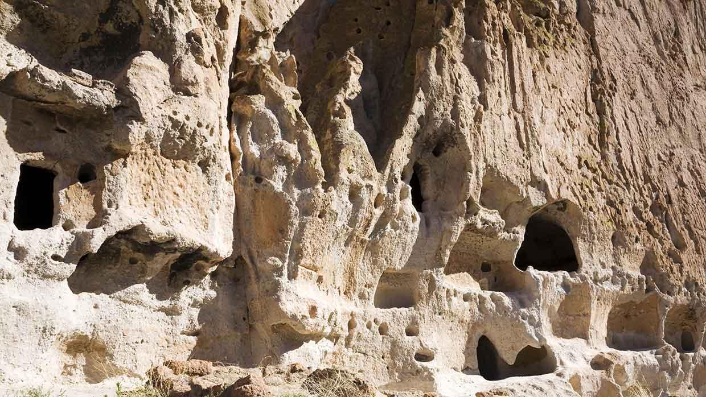 Höhlen der Ureinwohner in New-Mexico, USA. Foto: istockphoto