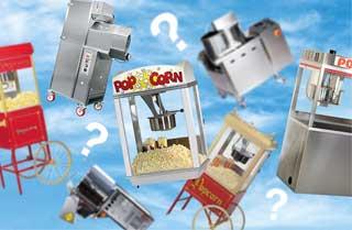 Welche ist die richtige Popcornmaschine?