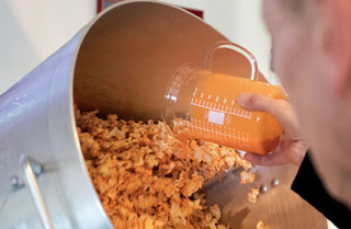 Popcorn-Veredelung