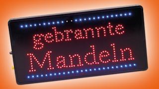 Mandeln-Werbemittel