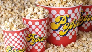 Popcorn-Verpackungen