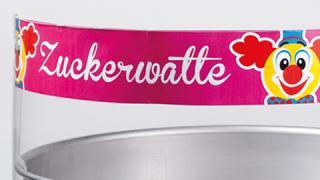Zuckerwatte-Werbemittel