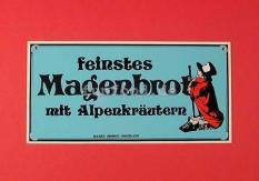 Nostalgieschild Magenbrot 40 x 20 cm