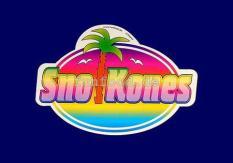 Aufkleber Motiv `Sno Kones`