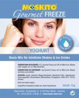 MOSKITO Gourmet-Freeze Yoghurt 1 kg Beutel