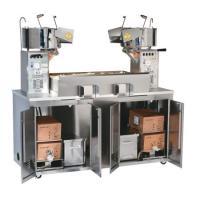 Popcorn Porduktionsanlage Twin 36/72 oz Maxi Popping Plant