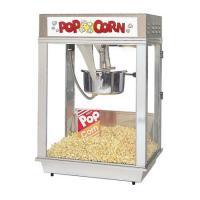 Popcornmaschine Citation 16 oz Edelstahl mit beleuchtetem Dach