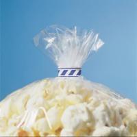 Klipse weiß/blau gestreift 9 x 33 mm 1.000 Stück