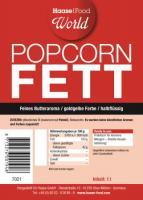 Popcorn Fett halbflüssig gelb 1 Liter Metallflasche