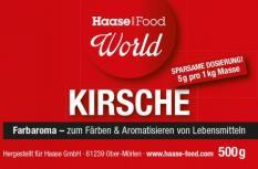 Farbaroma Kirsche dunkelrot 500 g Glas