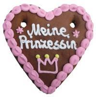 Lebkuchenherzen Prinz + Prinzessin 60 g 70 Stück