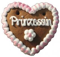 Lebkuchenherzen Mini Herz Prinzessin + Prinz 40 g 60 Stück