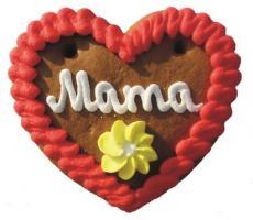 Lebkuchenherzen Mini Herz Mama Papa Oma Opa 40 g 60 Stück