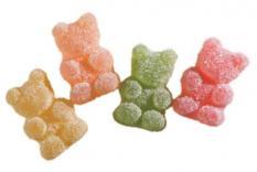 Fruchtgummi Bären sauer 1 kg Beutel