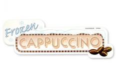Aufkleber Motiv Frozen Cappuccino