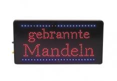 LED-Display Motiv : ¨gebrannte Mandeln¨ Maße: 30 x 60 cm - 1,5 A / 240 V