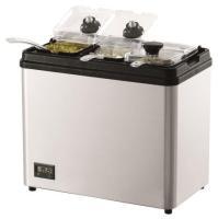 Kühlbar 3-fach Basis Edelstahlgehäuse elektrische Kühlung