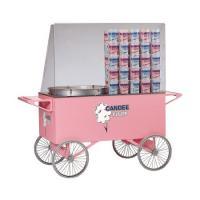 4-Rad Zuckerwattewagen pink