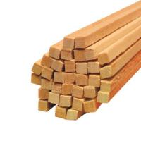 Holz Vierkantstäbe für Zuckerwatte Ø 4 mm Länge 400 mm 1.000 Stück
