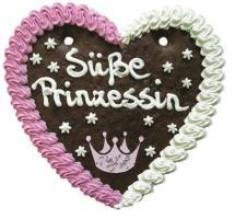 Lebkuchenherzen Prinz + Prinzessin 200 g 20 Stück