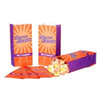 Falttüte Cinema-Sweet orange lila Papier 10,5 x 6,5 x 23 cm 1.000 Stück