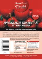 Apfelglasur Konzentrat mit Kirscharoma