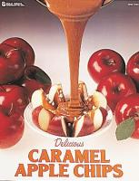Poster Motiv USA Caramel Apple Chips