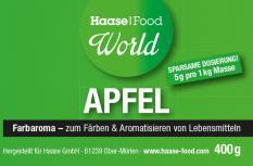 Farbaroma Apfel grün 400 g Glas ohne AZO-Farbstoffe