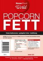Popcorn Fett halbflüssig gelb 20 Liter Eimer
