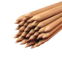 Holz Rundstäbe gespitzt für Äpfel Ø 4 mm Länge 150 mm 10.000 Stück