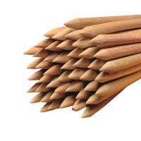Holz Rundstäbe gespitzt für Äpfel Ø 5 mm Länge 150 mm 1.000 Stück