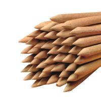 Holz-Rundstäbe gespitzt für Äpfel oder Waffeln Buchenholz Ø 6 mm Länge 150 mm 4.500 Stück