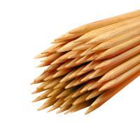 Holz Rundstäbe gespitzt für Früchte Ø 3 mm Länge 300 mm 1.000 Stück
