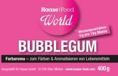 Farbaroma Bubble Gum rosa 400 g Glas