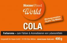 Farbaroma Cola braun 400 g Glas