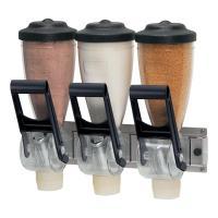 Triple Dry Dispenser & Bracket 1 Liter inkl. Wandhalterung 11,9 x 34,5 x 16 cm