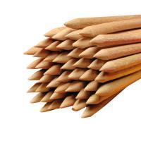 Holz Rundstäbe gespitzt für Äpfel Ø 6 mm Länge 150 mm 1.000 Stück