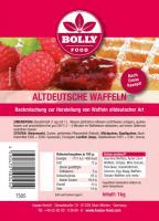 Backmischung Altdeutsche Waffeln 1 kg Beutel