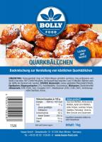 Backmischung Quarkbällchen 1 kg Beutel