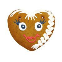 Lebkuchenfiguren Süße Gesichter 40g 60 Stück