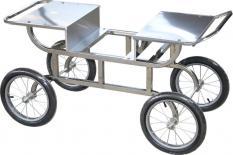 Mobiler Unterwagen/Verkaufswagen (ohne Dach)