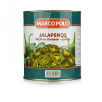 Jalapeños geschnitten 1,7 kg Dose 1,7 kg Abtropfgewicht