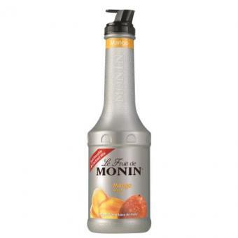 MONIN Fruchtpüree Mix Mango 1,0 Liter Kunststoffflasche