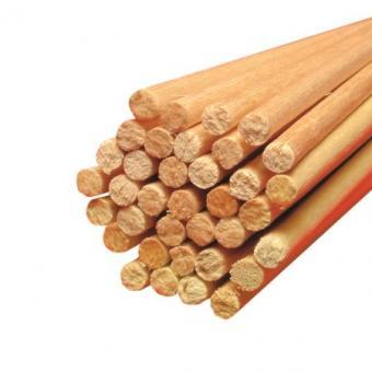 Holz Rundstäbe für Zuckerwatte Ø 4 mm Länge 400 mm 1.000 Stück